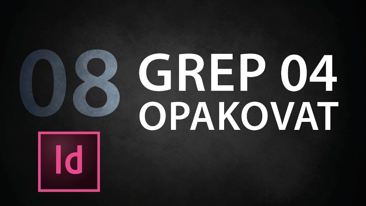 indesign tutorial 08 grep 03 umiestnenie kbb1ft3zlbw - InDesign tutorial 08: GREP 04 Opakovať