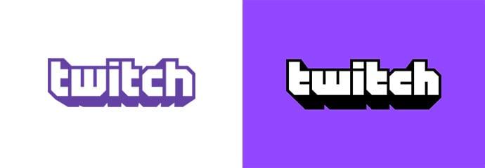 oldnew 1 - Twitch rebranduje s písmom od Martina Váchu