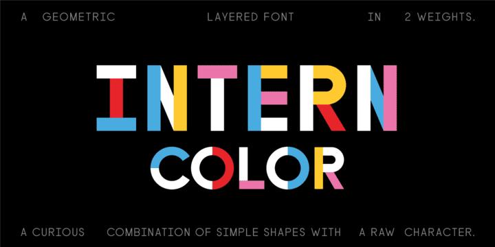 315243 - Font dňa – Intern Color