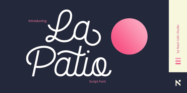 316546 - Font dňa – La Patio