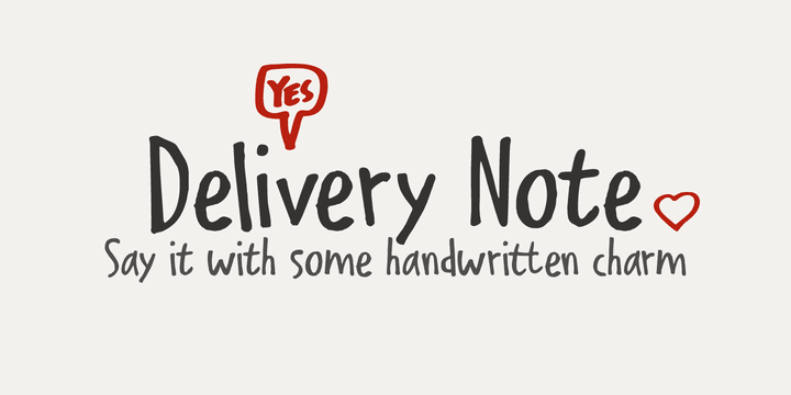 324336 - Font dňa – Delivery Note
