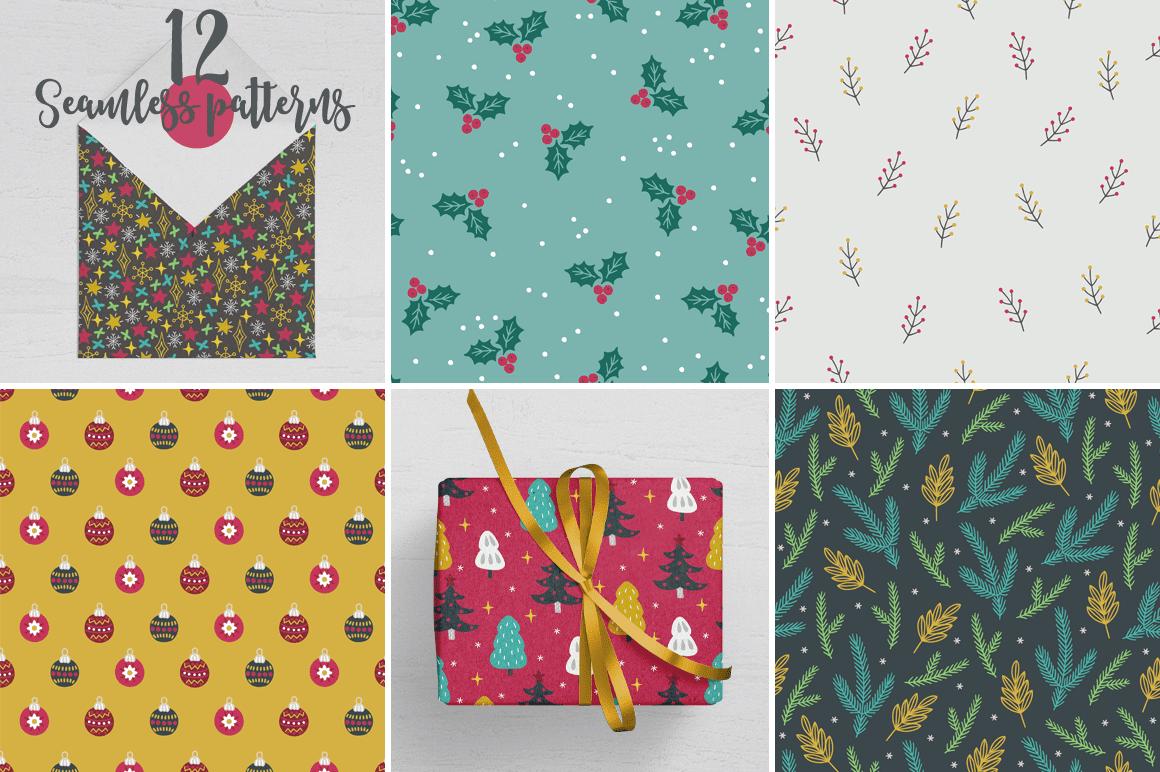 body1 1 - Stiahnite si pestrý set patternov Xmas Forest Kit za 15 dolárov!