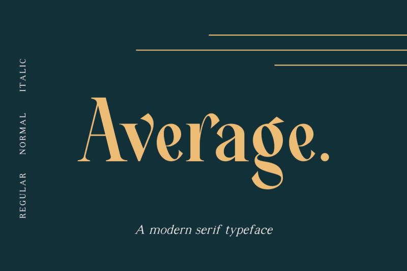 cover 3 - Stiahnite si písmo Average s 50 zľavou!
