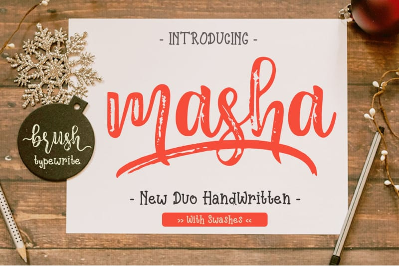 cover 39 - Stiahnite si písmo Masha za polovicu