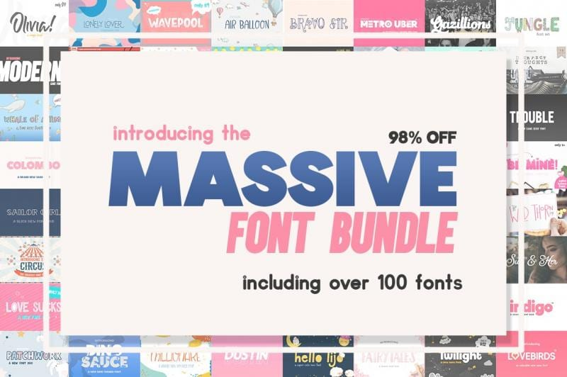 cover 9 - Stiahnite si Massive Font Bundle za 22 dolárov!