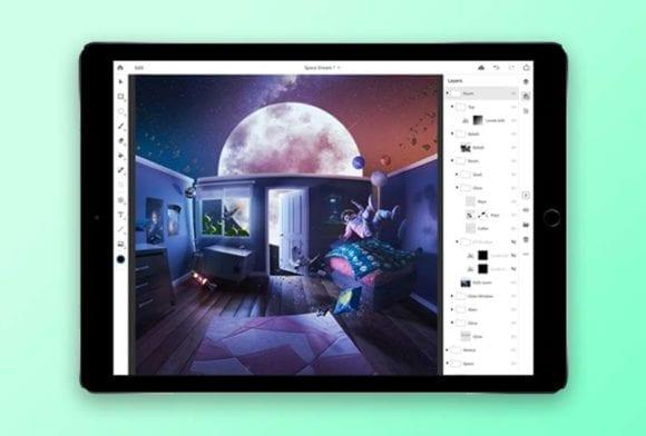 cover dtp 10 580x392 - Photoshop pre iPad možno vyjde už čoskoro