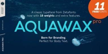 312789 380x190 - Font dňa – Aquawax Pro