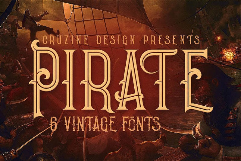 cover 1 800x533 - Stiahnite si balík 6 štýlových vintage fontov za 8 dolárov!