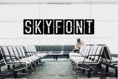 cover 2 380x253 - Stiahnite si písmo Skyfont za 12 dolárov!
