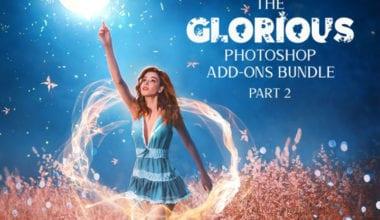cover dtp 13 380x220 - Stiahnite si Glorious Photoshop Add-ons Bundle s 99% zľavou