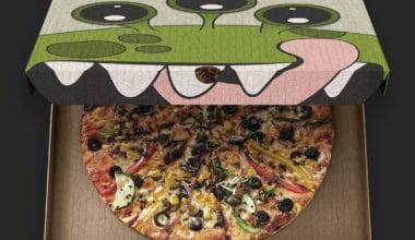 pizza1 380x220 - Odvážíte se zakousknout? Zábavný obal Pizza Monster