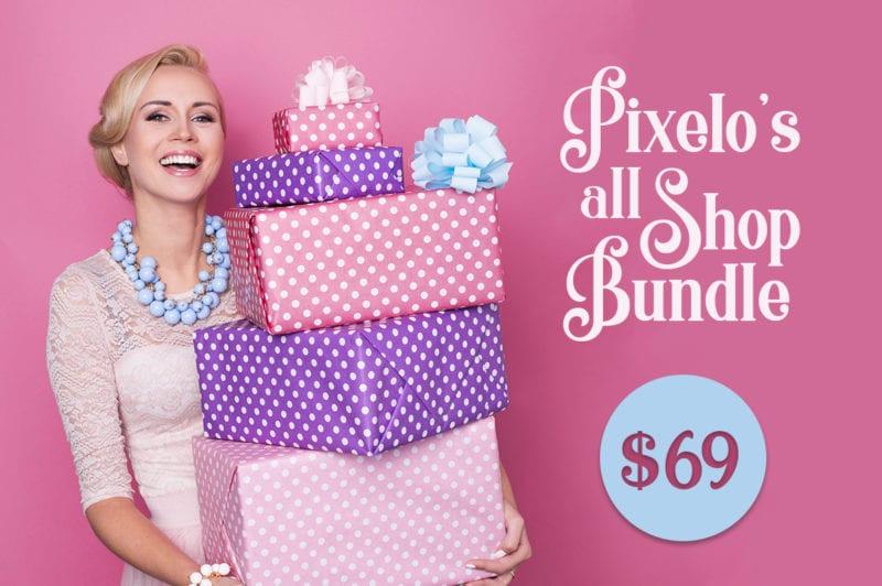 All shop Bundle 800x532 - Stiahnite si Pixelo All Shop Bundle za 69 dolárov!
