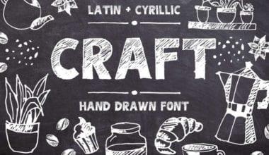 cover dtp 28 380x220 - Stiahnite si hand drawn písmo CRAFT za 10 dolárov