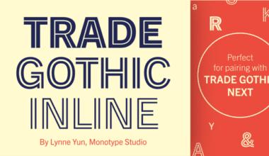 274470 380x220 - Font dňa – Trade Gothic Inline