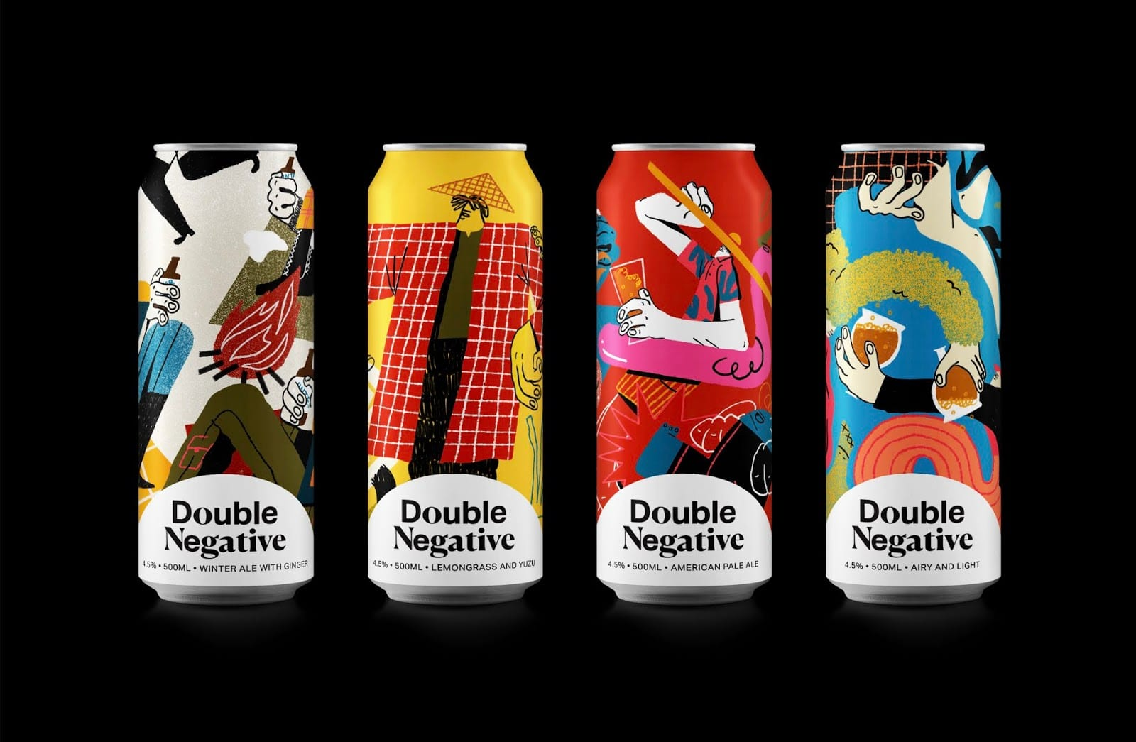ach tie obaly – double negative artisanal brewery - Ach, tie obaly – Double Negative Artisanal Brewery