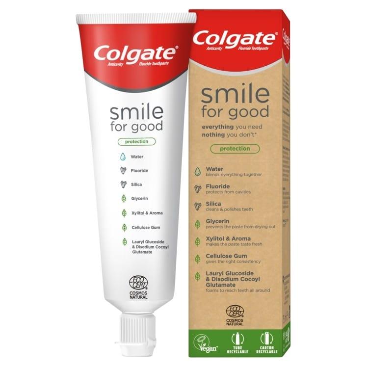 colgate predstavil vegánsku pastu v recklovateľnom obale - Colgate predstavil vegánsku pastu v recyklovateľnom obale