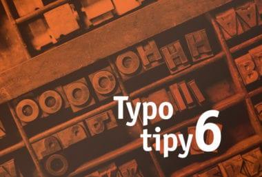 cover typo 380x257 - Typotipy 6: Nadpisové písma pre vaše projekty v roku 2020