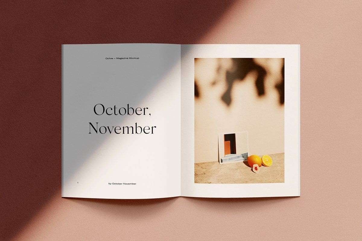 stiahnite si pôsobivé mockupy magazínov - Stiahnite si pôsobivé mockupy magazínov