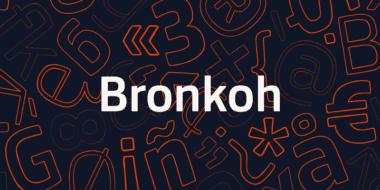 206906 380x190 - Font dňa – Bronkoh