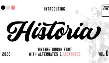 341592 380x220 - Font dňa – Historia Script