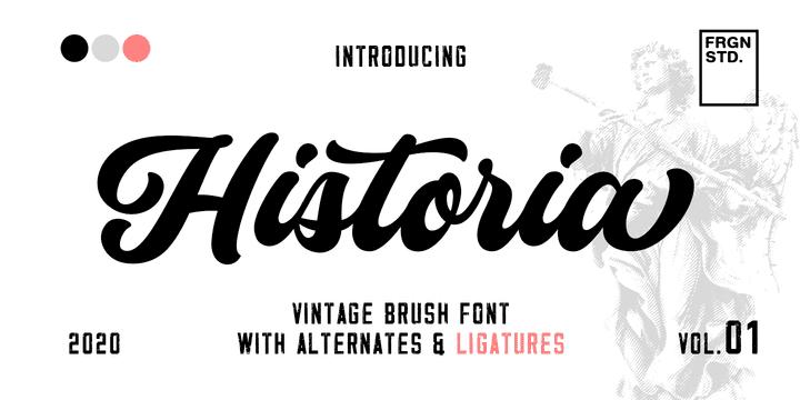 341592 - Font dňa – Historia Script