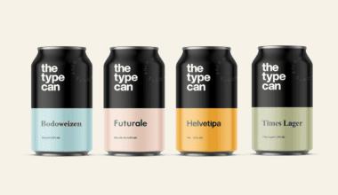 Thetypecan 1 380x220 - Obal piva pro milovníky typografie