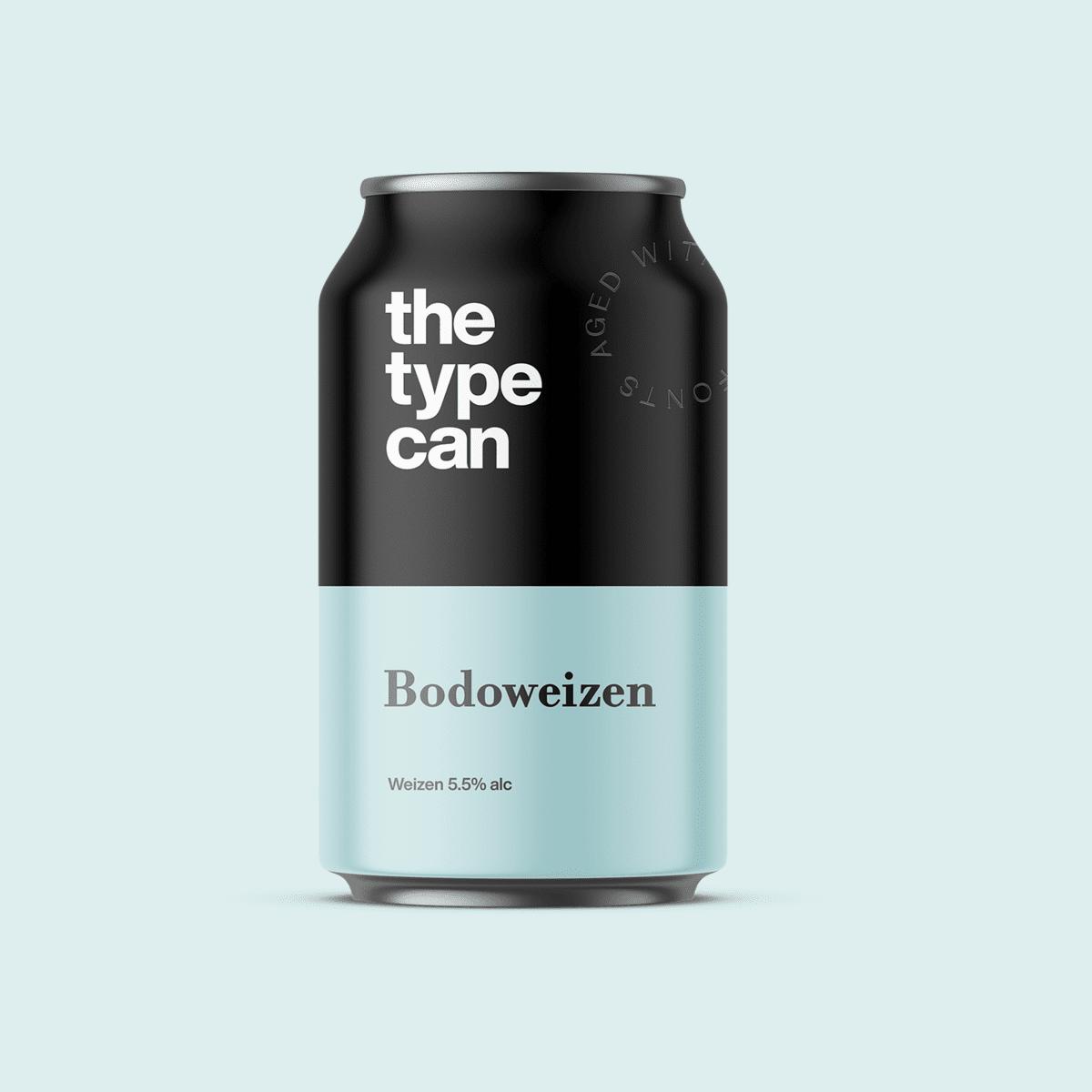 Thetypecan 2 - Obal piva pro milovníky typografie