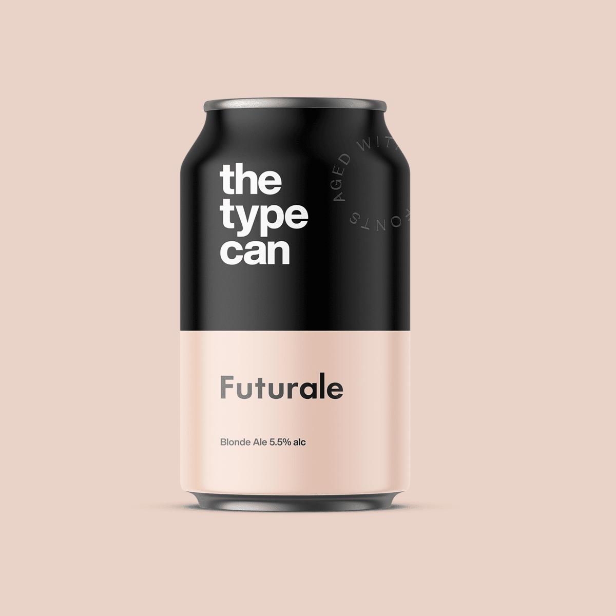 Thetypecan 3 - Obal piva pro milovníky typografie