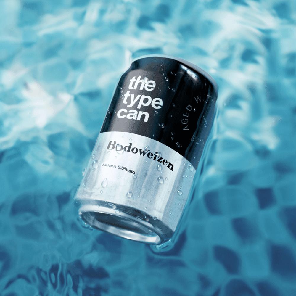 Thetypecan 6 - Obal piva pro milovníky typografie