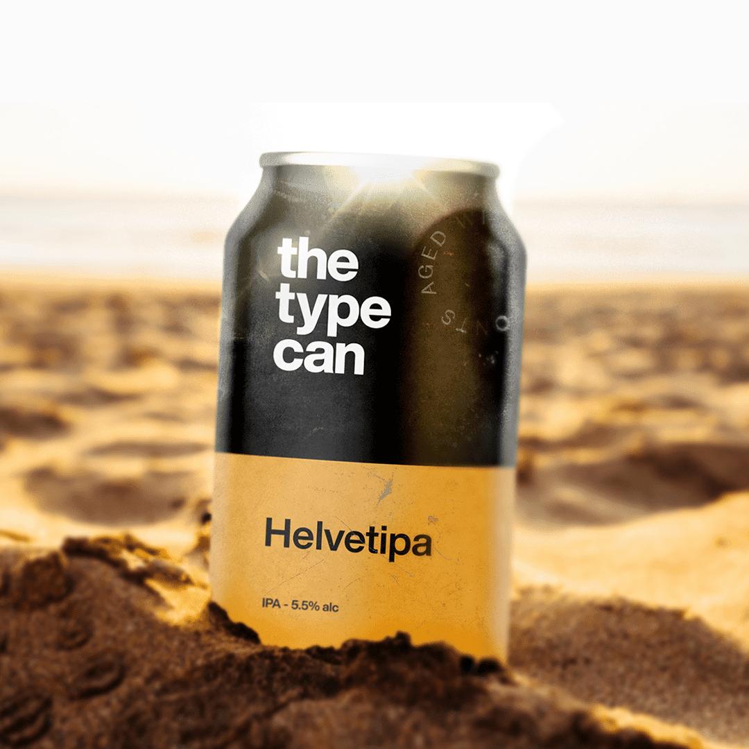 Thetypecan 8 - Obal piva pro milovníky typografie