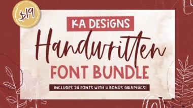cov 4 380x213 - Stiahnite si set ručne písaných fontov za 19 dolárov!