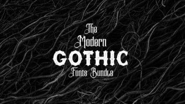 covv 380x213 - Stiahnite si pestrý Modern Gothic Fonts Bundle za 29 dolárov