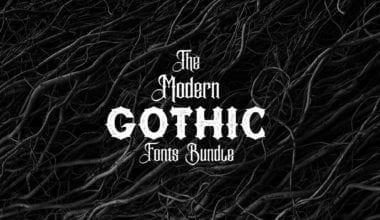 covv 380x220 - Stiahnite si pestrý Modern Gothic Fonts Bundle za 29 dolárov