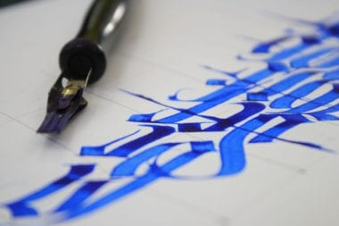 profilovka 380x253 - Kurz kaligrafia (základy) – Ateliér Amulet