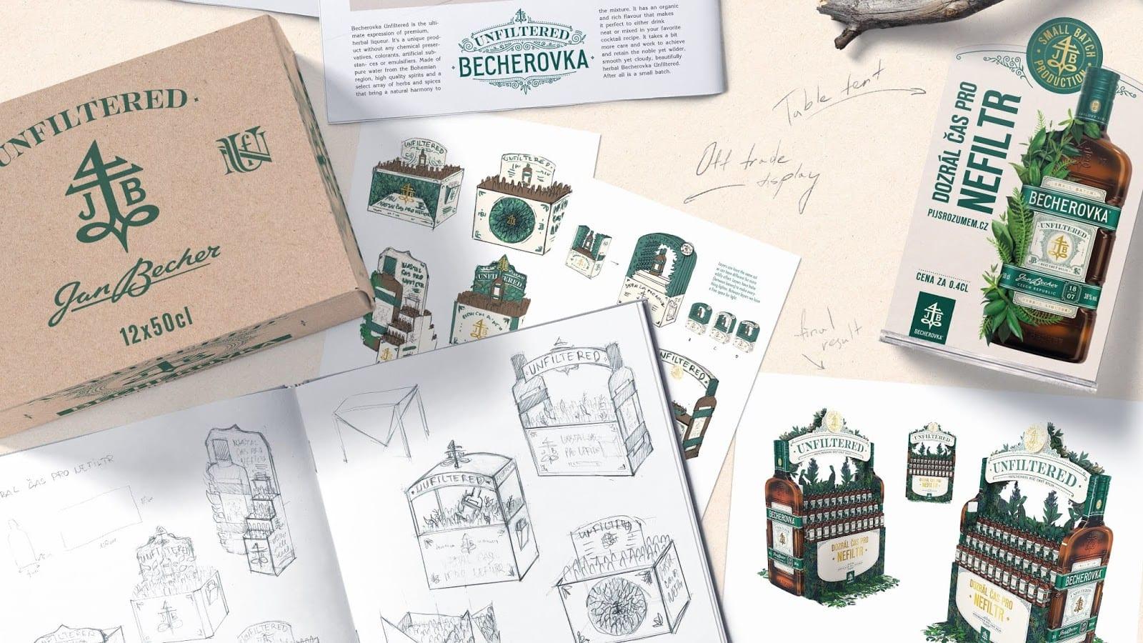 bech unfilt cocoon 06 - Becherovka představila svou premiovou Unfiltered verzi s novým obalem