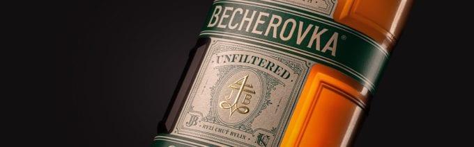 becherovka unfiltered cocoon 02 1 680x212 - Becherovka představila svou premiovou Unfiltered verzi s novým obalem