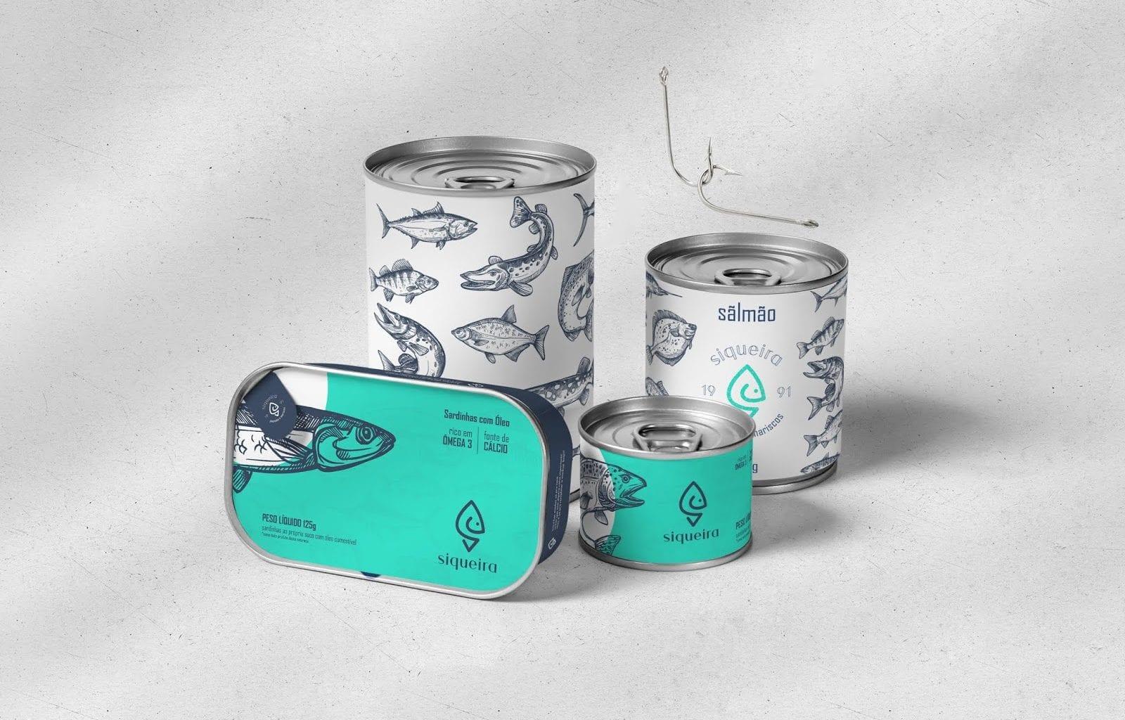 siqueira 01 1600x1024 - Povedený koncept obalů rybích produktů Siqueira